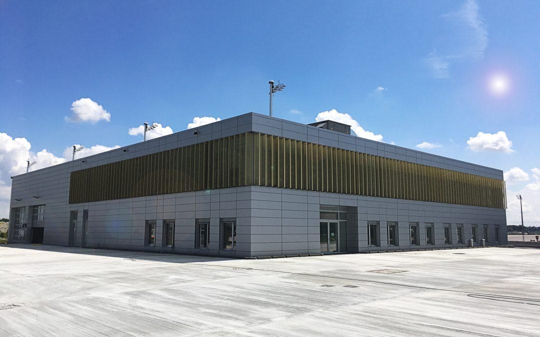 Bauprojekt am Flughafen München in den letzten Zügen