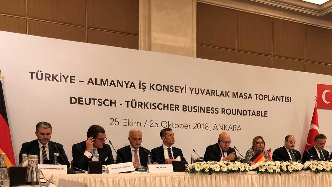 Delegationsreise von Claus R. Mayer mit dem Bundesministerium für Wirtschaft und Energie in die Türkei
