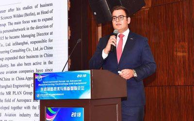 MR PLAN Group präsentiert sein Luftfahrt-Know-how auf dem CAC Forum in Chengdu/China