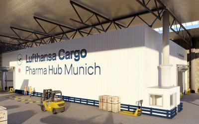 Ausbau des Lufthansa Cargo Pharma Hub fertiggestellt