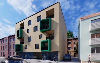 Know how aus Industrie- und Verwaltungsbau in Wohnbau adaptiert