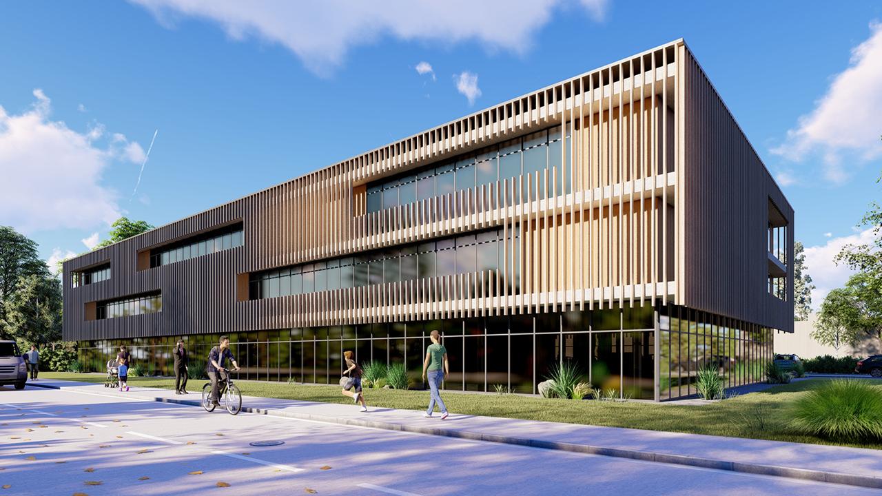 MR Architekten erstellen Konzept für Wohn- und Ärztehaus - Ansicht 2
