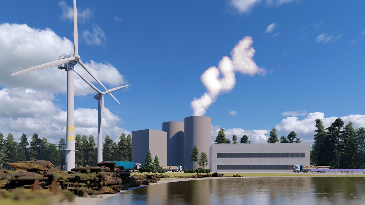 Gesamtübersicht Ökologisches Kraftwerk